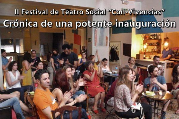 El II Festival de Teatro Social Con-Vivencias abre el telón