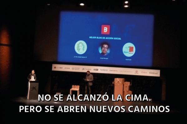 Objetivo Premio Bitácoras 2016: No conseguido