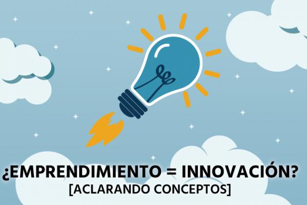 No es lo mismo ser que estar, ni emprender que innovar