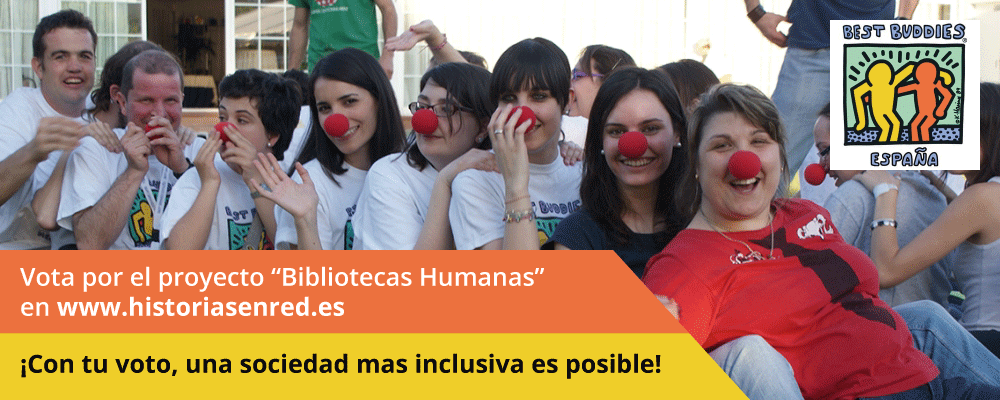 Vota Best Buddies en Historias en Red