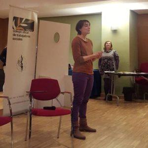 Beatriz Martín en evento del COTS Madrid