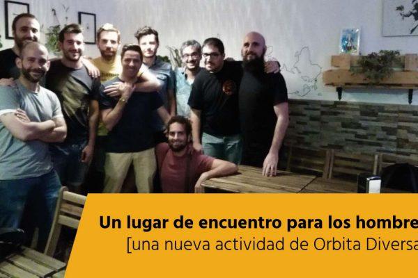 Foto grupo 1ª sesión nuevas masculinidades Orbita Diversa