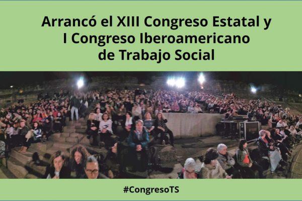 XIII Congreso de Trabajo Social: Crónica Día 1