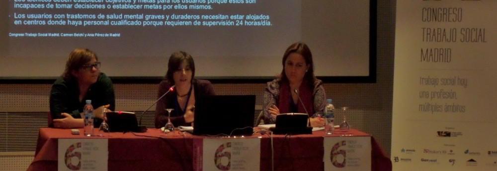 AIRES Asociación en el Congreso de Trabajo Social de Madrid