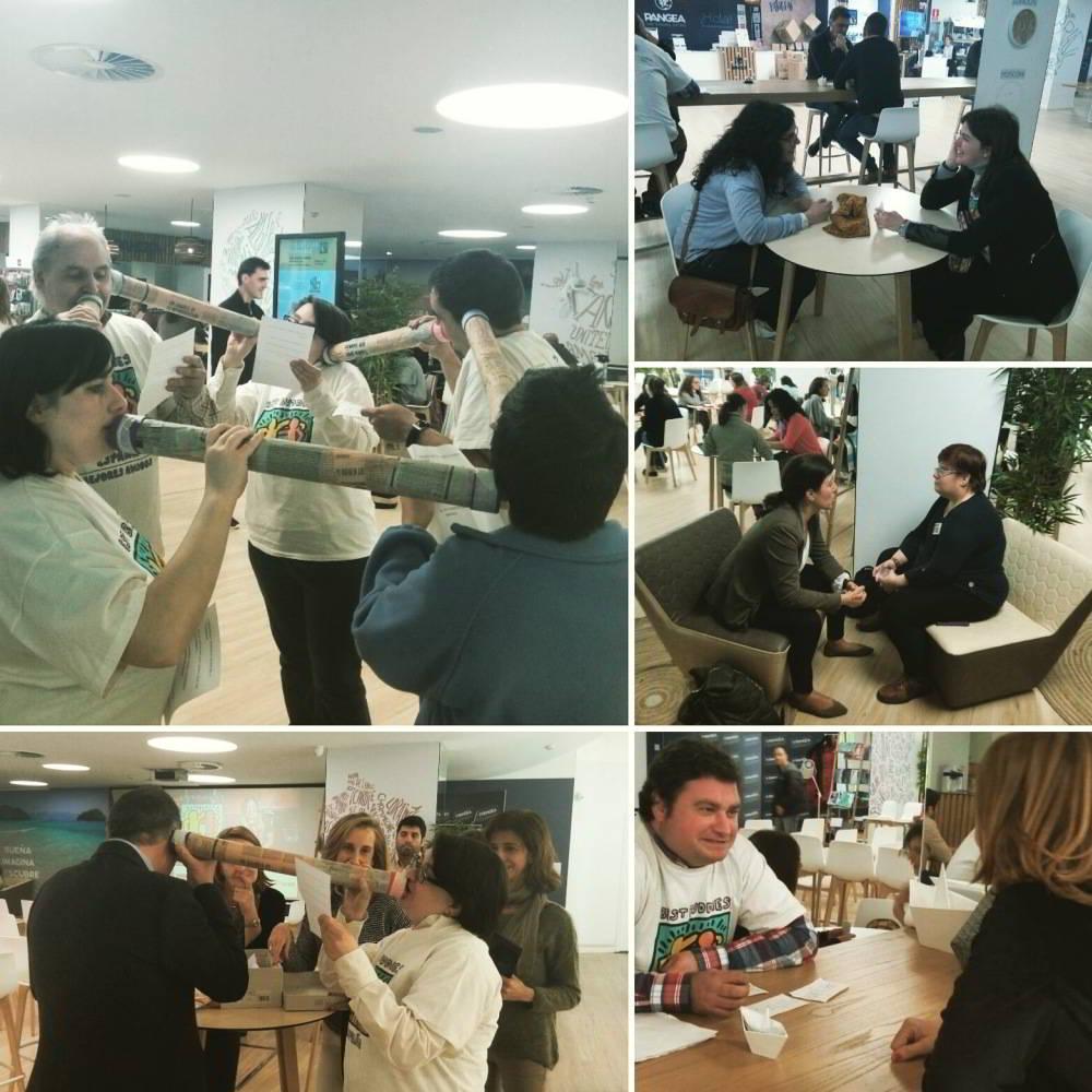 Bibliotecas Humanas y Susurradores Sociales