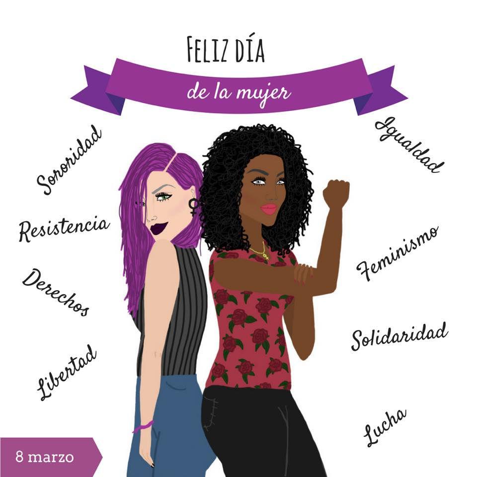 """Ilustración Día de la Mujer """"Porque me sale del moño"""""""