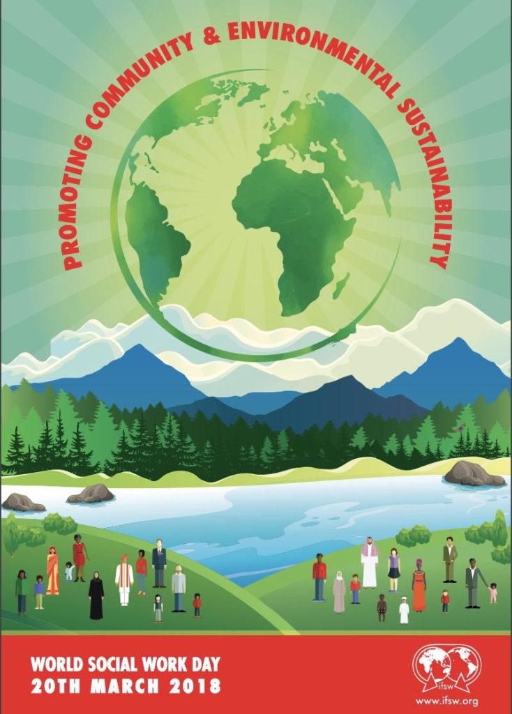 Poster World Social Work Day 2018