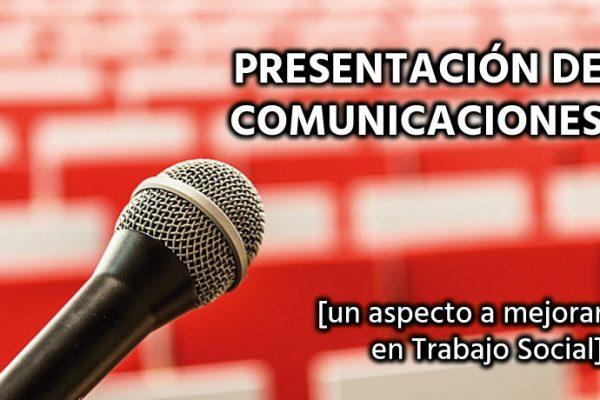 Presentar una comunicación en un Congreso