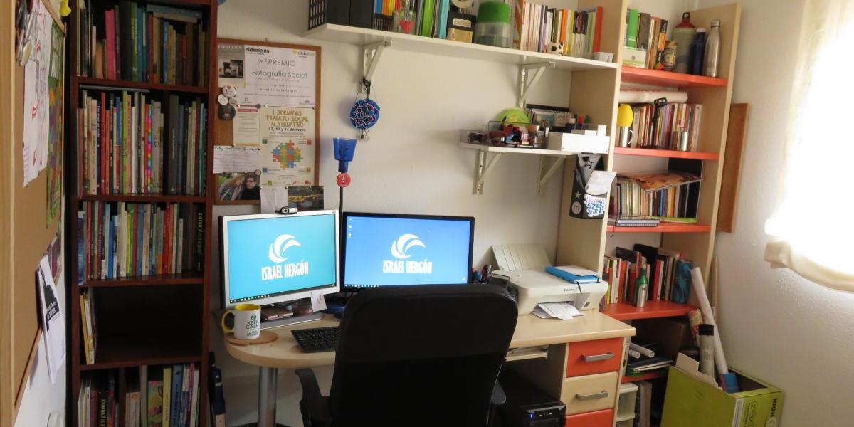 Despacho en casa Israel Hergón