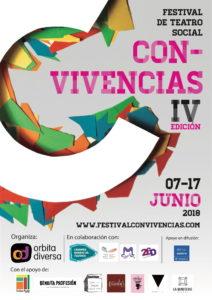 Cartel IV Festival de Teatro Social Con-Vivencias