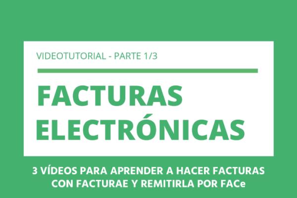 Hacer factura electrónica con Facturae y remitirla por FACe