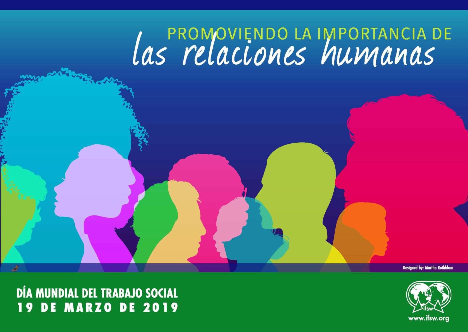 Cartel Día del Trabajo Social 2019