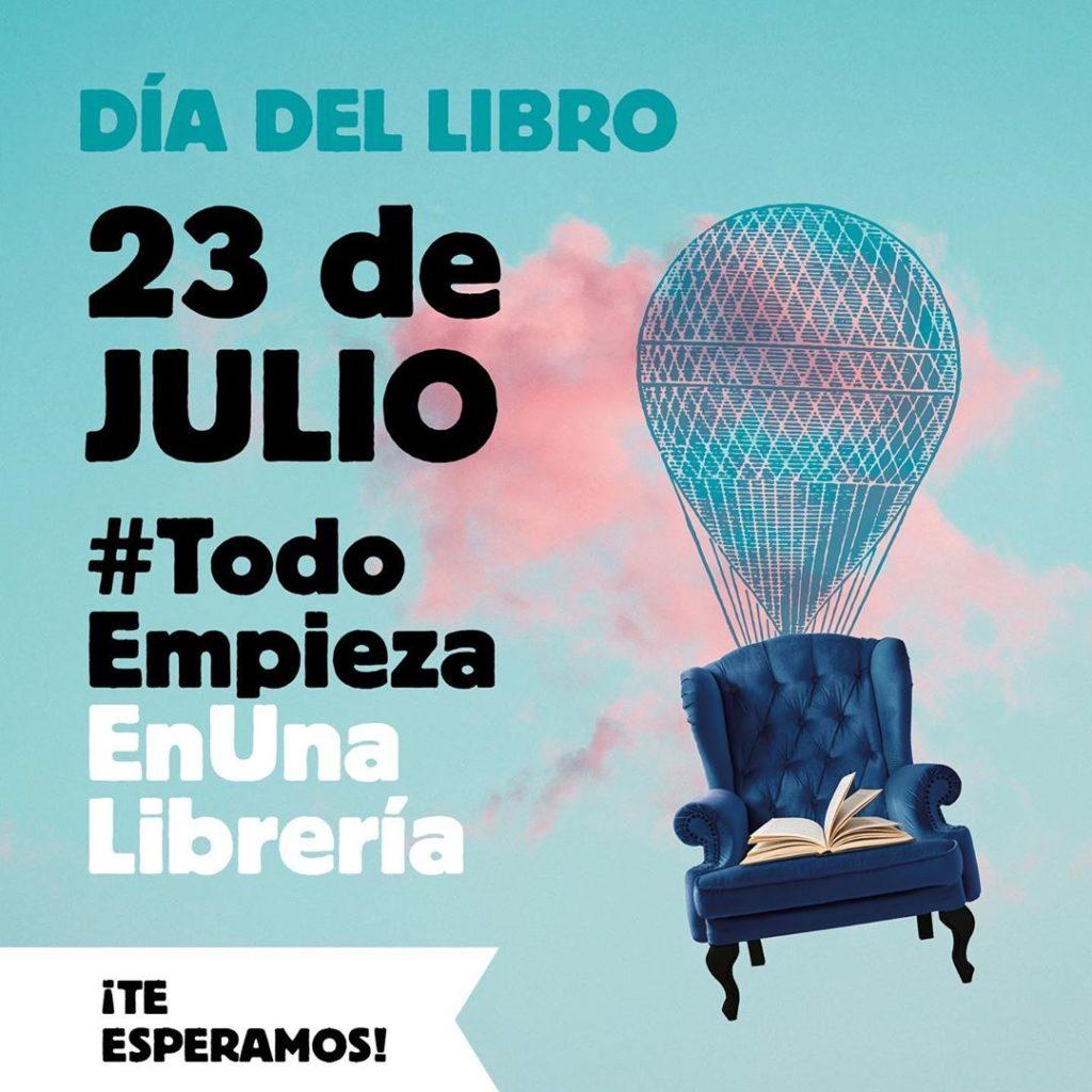 Cartel Día del Libro 2020 - 23 julio